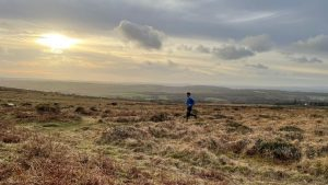 Runner on Dartmoor