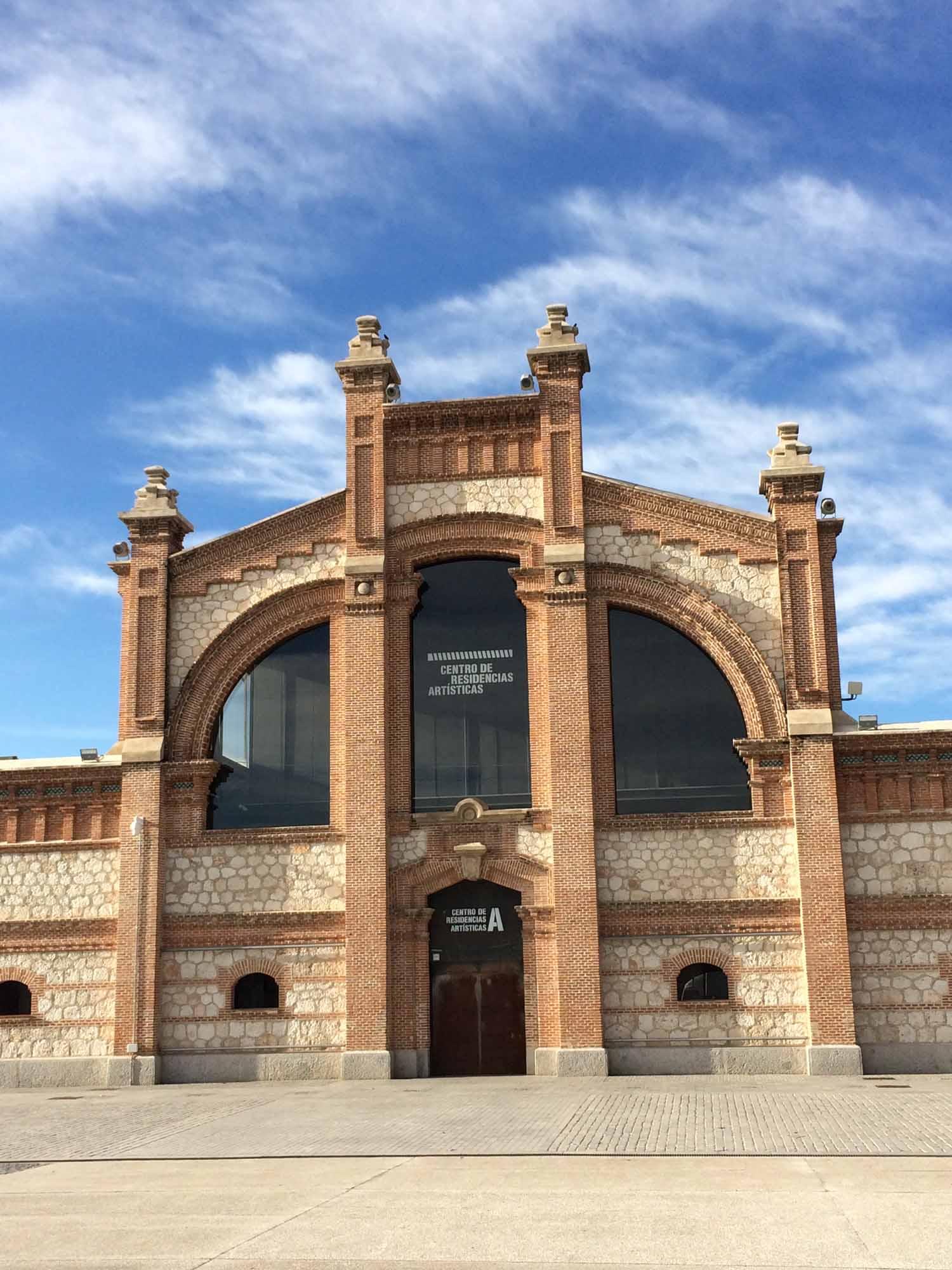 Centro de Residencias Artisticas, Matadero, Madrid.