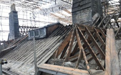 Project team resumes work on Old Postern roof repairs
