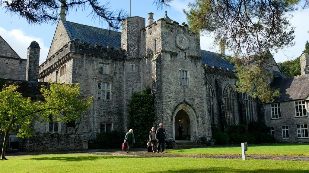 Dartington Hall after the conference
